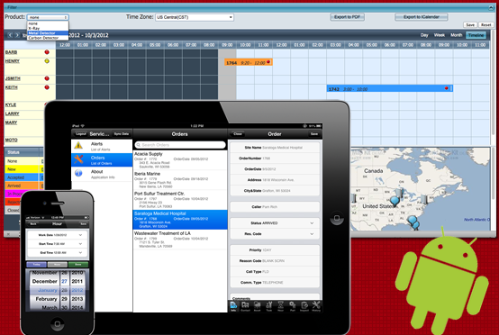 Mobile Field Service for Sage 100 ERP by MSI Data