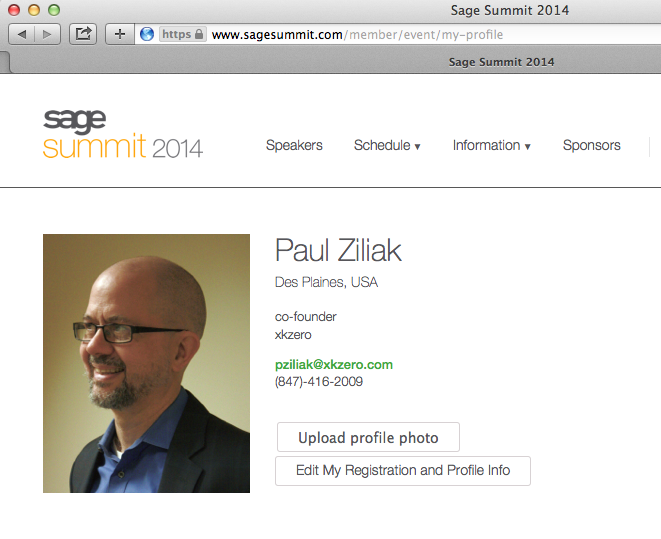 Session BUS-503 Sage Summit 2014